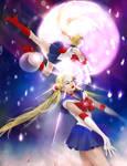 Sailor Moon-Falling Stars.