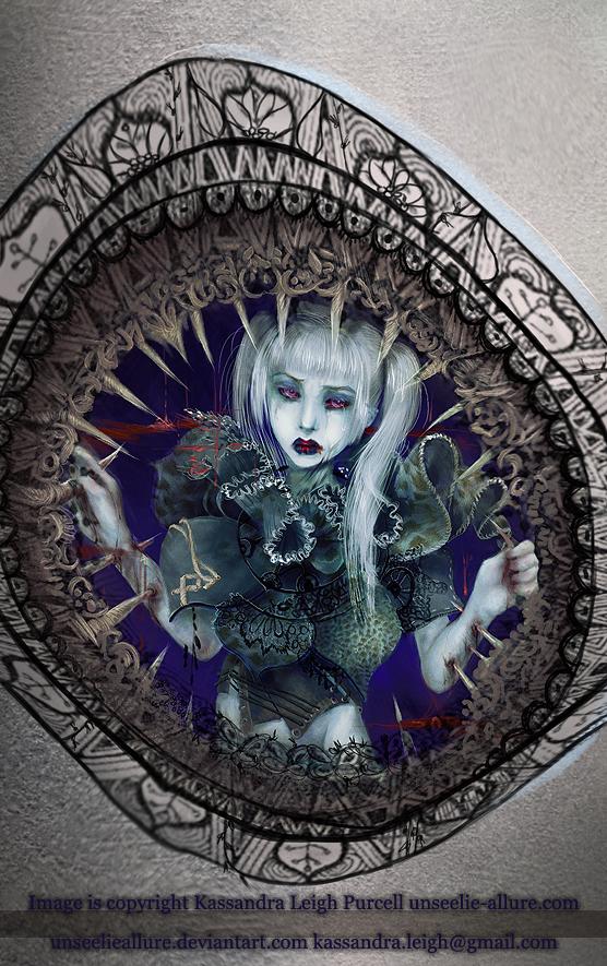 Veins of Glass. by UnseelieAllure