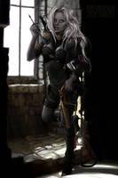 Drow Hunter. by UnseelieAllure