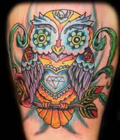 Sugar Owl by Ash2ashes