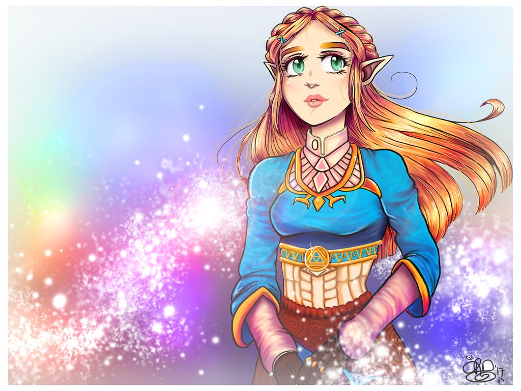 Zelda Breath of the Wild by October-Shadows