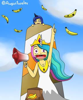 Bananas On The Moon!