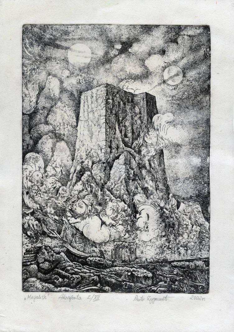 The Megalith by PeterZigga