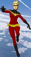 Ms. Marvel Costume Redesign #2