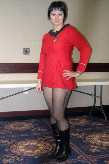 Classic Star Trek Uniform By Meiylen On Deviantart