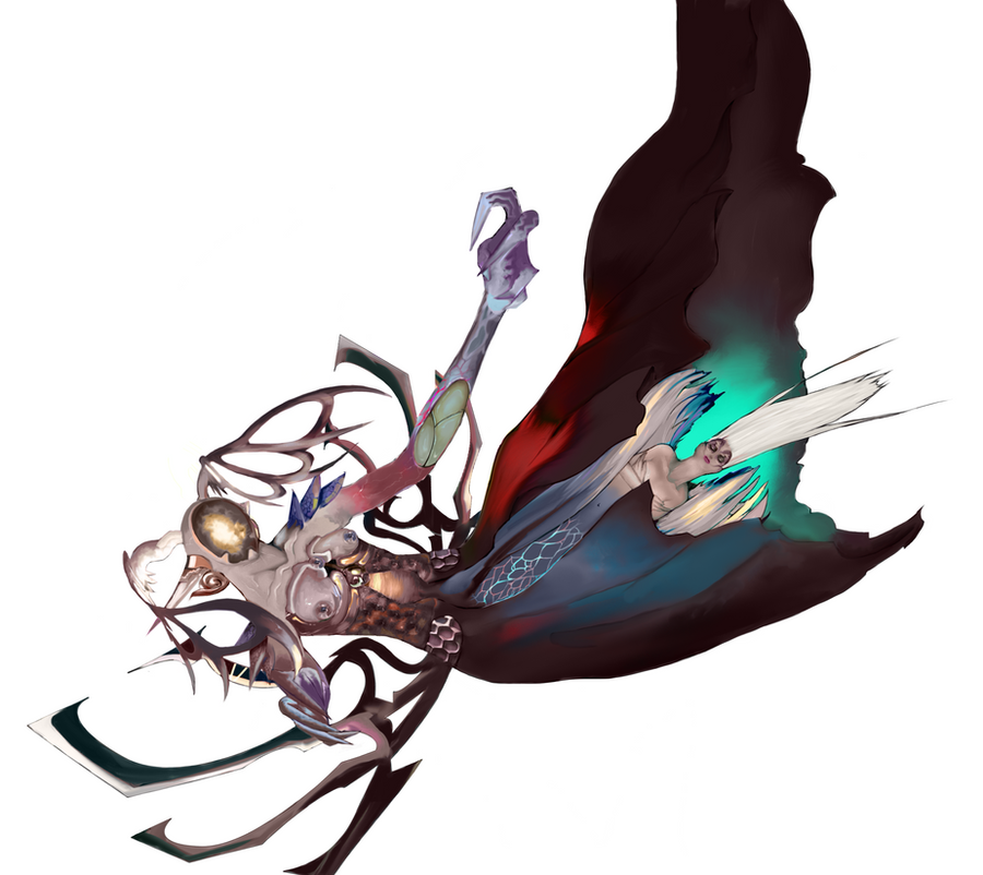 FF8 Ultimecia Final Form By Zgagang On DeviantArt
