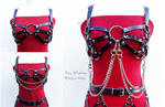 Cage bra harness by FairyWorkshop
