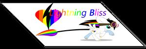 Commission - Lightning Bliss Fan Button