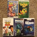 My Pixar VHS Collection