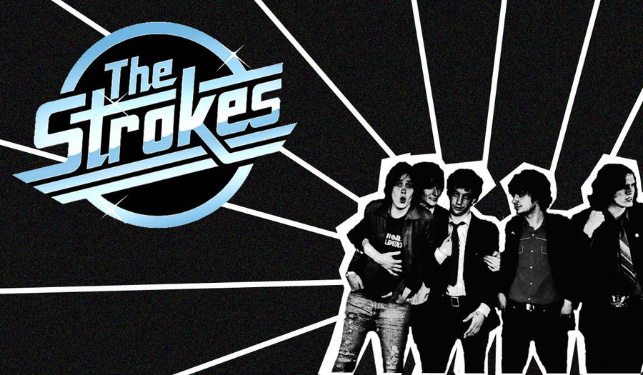 The strokes wallpaper by tink44 on deviantart the strokes wallpaper by tink44 thecheapjerseys Images