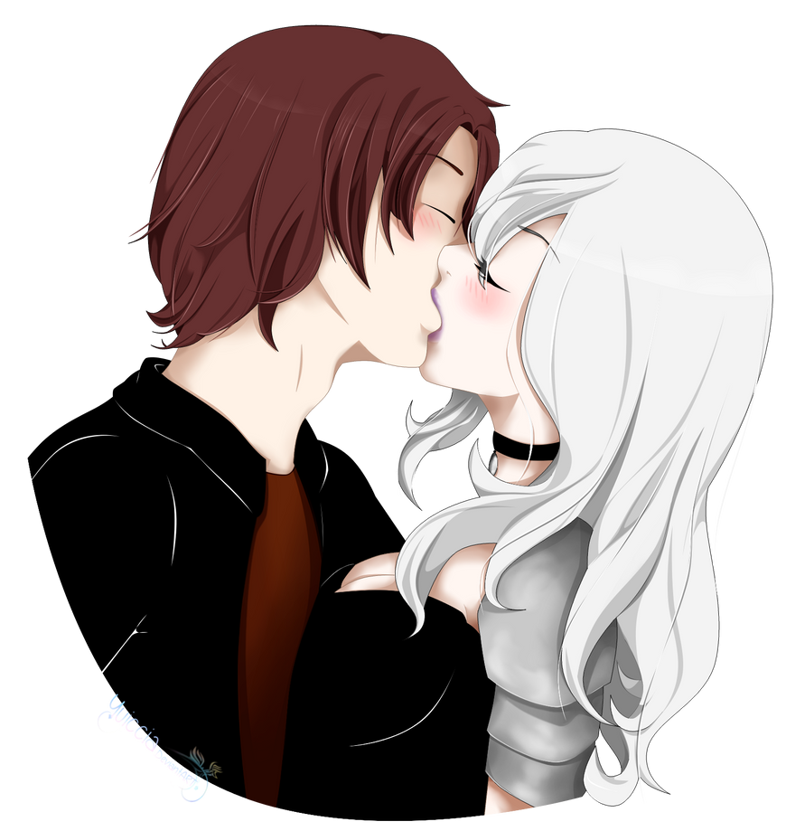 [Commission] Half Body Couple for xhelena-skyx by Yuiccia