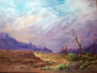 Desert Cactus by grimmsguild