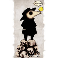 The Plague Doctor by FrankiesBugs