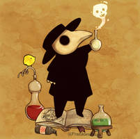 Plague Doctor XII by FrankiesBugs