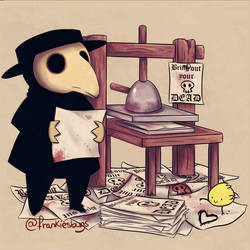Plague Doctor XXII by FrankiesBugs