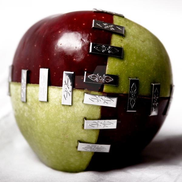 Frankenfoods - Apple 2 by sarahashleyphotos