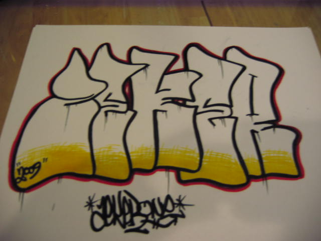 Chrome Graffiti Throwie - YouTube