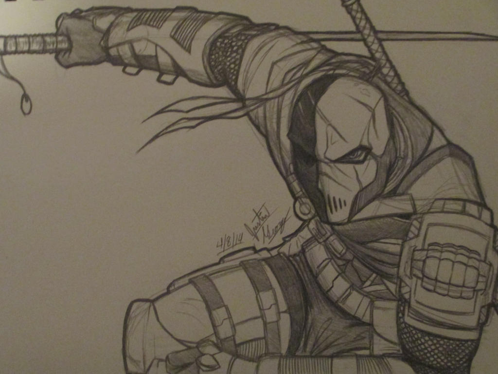 Deathstroke [SKETCH] b...