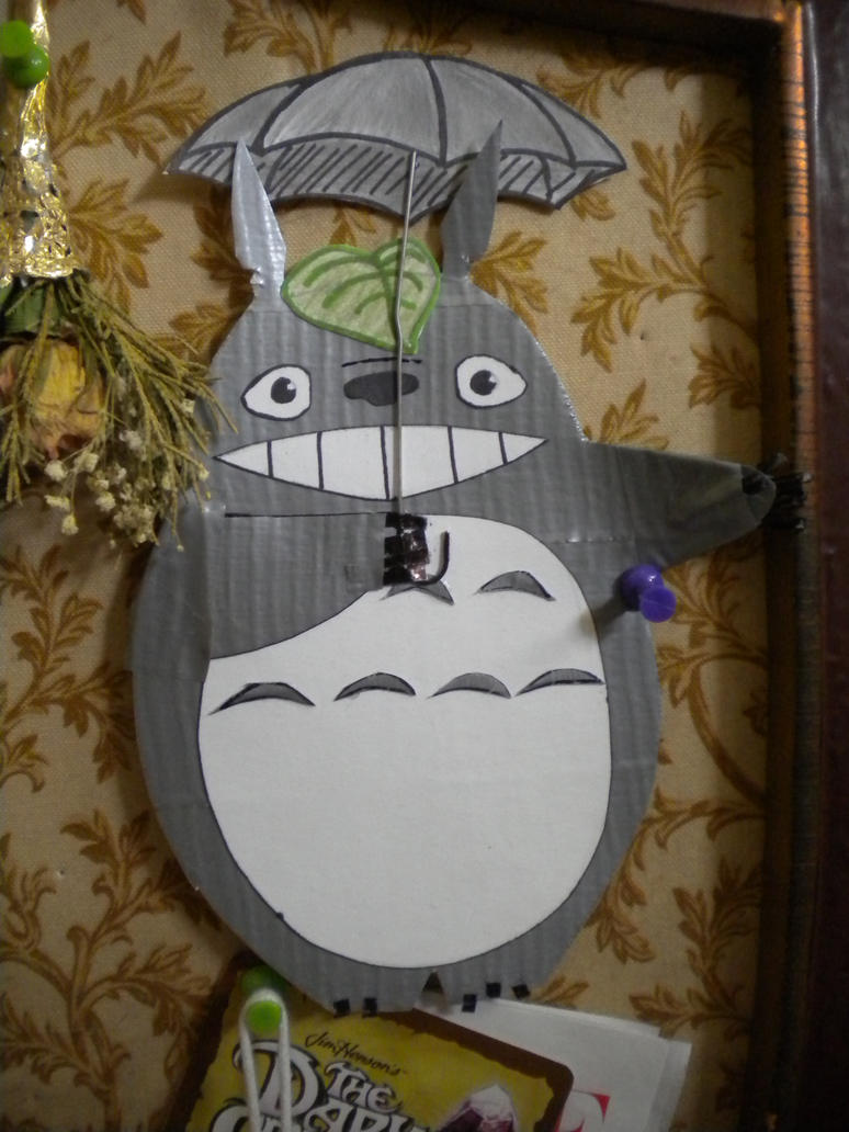 Totoro birthday card by vampirewolfgirl on DeviantArt – Totoro Birthday Card
