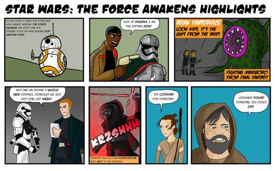 SPOILER ALERT: Force Awakens Highlights