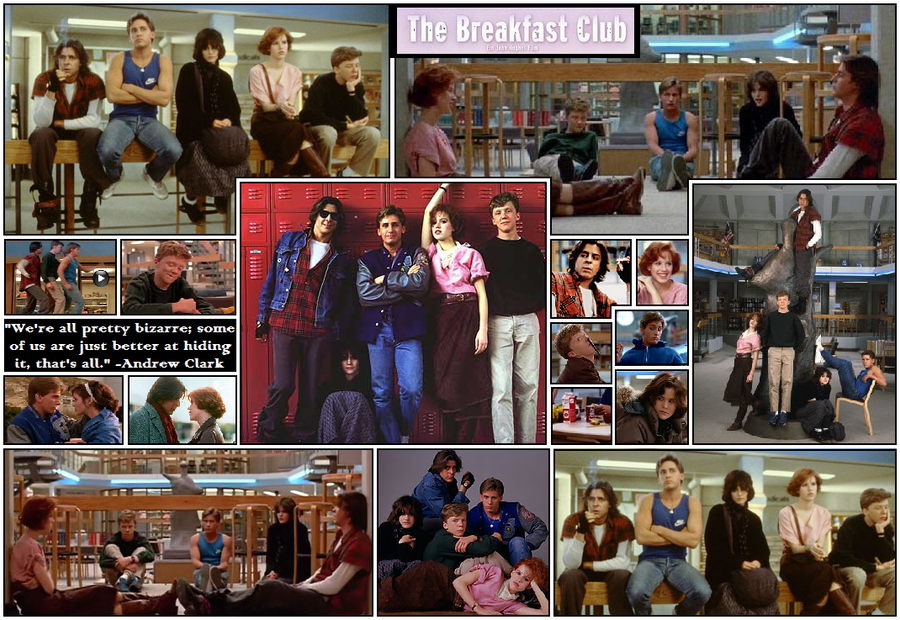 breakfast club essay Diverting and completely useless facts, lists and other trivia from the world of movies.