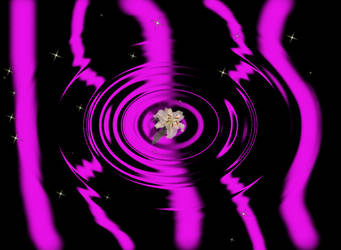 Neon Water Ripple Wallpaper w.o text by EmoNightEmoDay