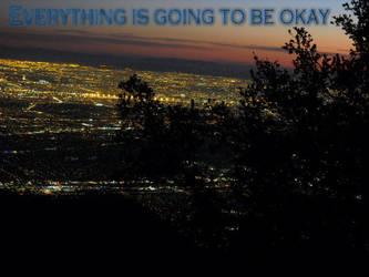 Everything will be okay wallpaper by EmoNightEmoDay