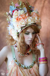 Temna Fialka: Belle of Roses by NightshadeBeauty