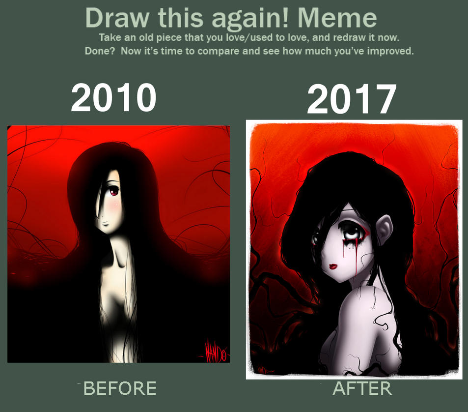 Draw this again challenge! by Machiazu