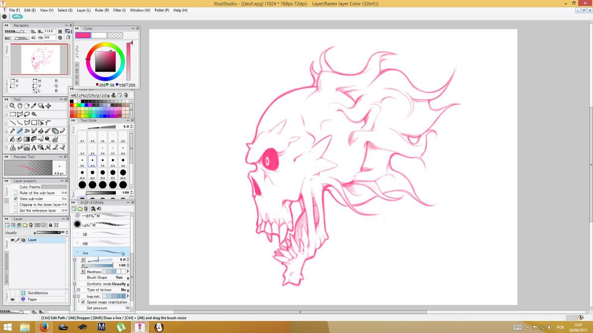 Skull by Machiazu