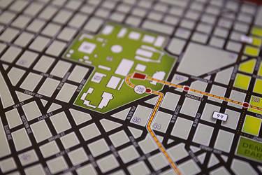 Shadowrun Poster Closeup - Downtown Seattle
