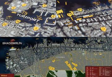 Shadowrun Karte Hamburg Wildost
