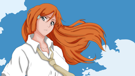 Inoue Orihime - color by Nyrea