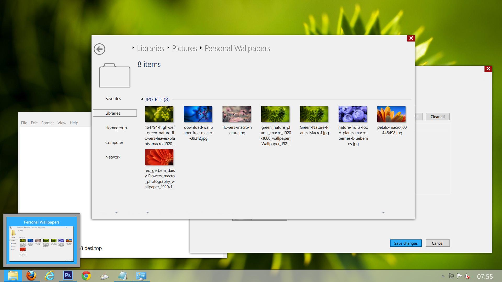 Windows 8 - Metro - Screenshot2 by savouryspacemonkey