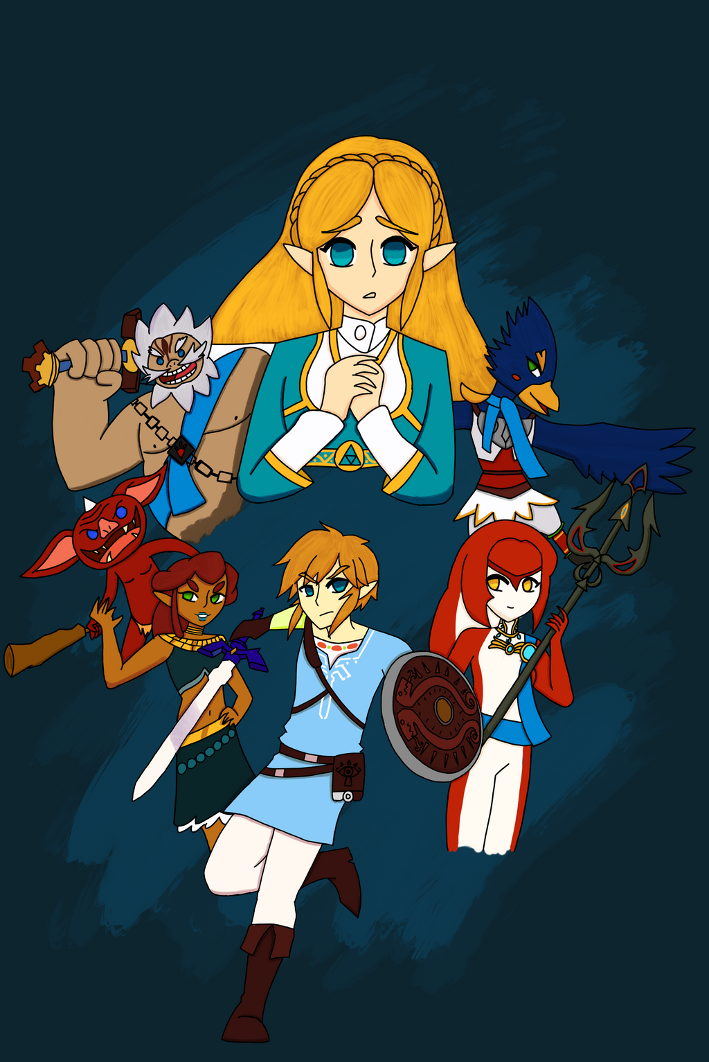 The Legend of Zelda | Breath of the Wild by Mayguh-Mein