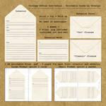 Vintage Office Invitation - Printable by Ninelyn