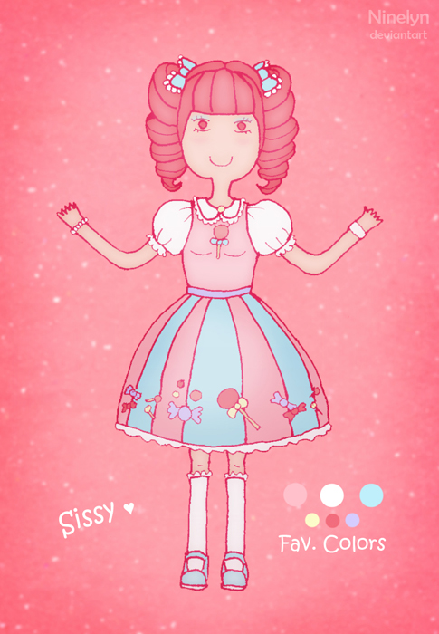 Sissy - OC reference by Ninelyn