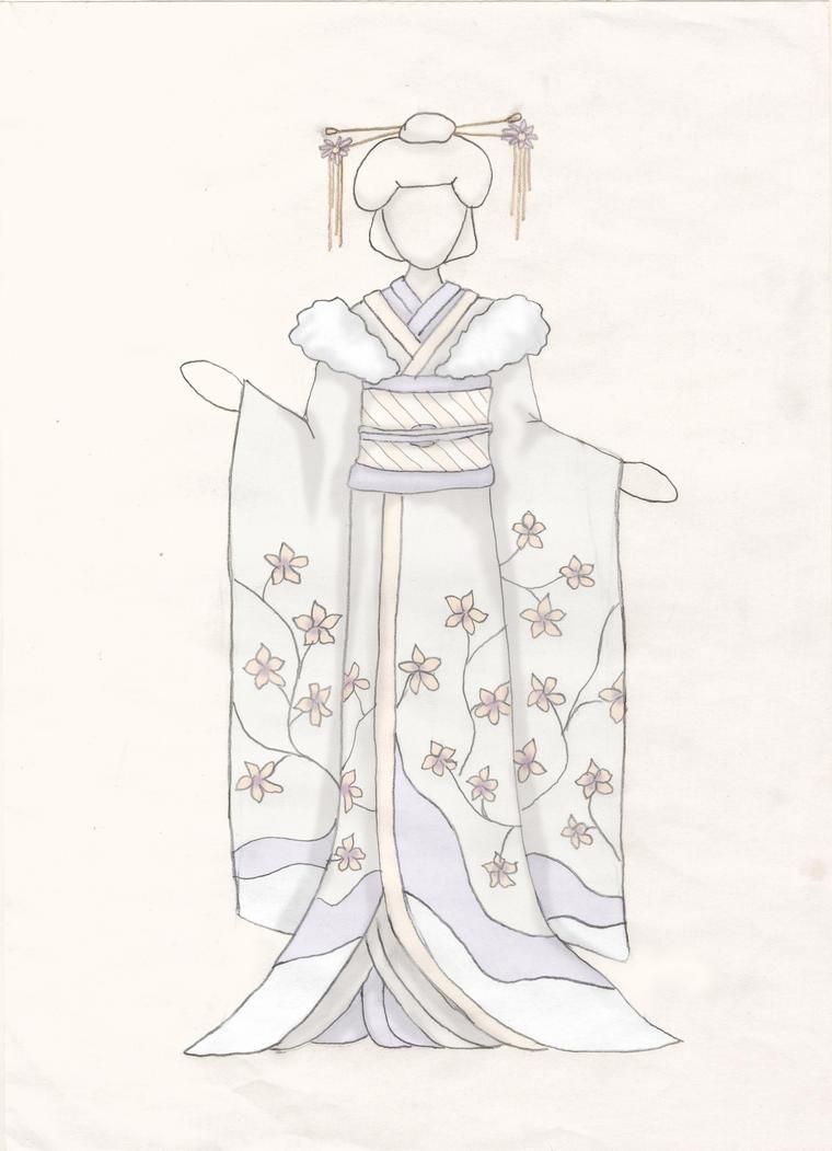 Wedding Kimono by Ninelyn
