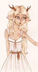 Fawn Girl by Ninelyn