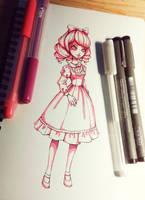 Cute Lolita - Pinktober by Ninelyn