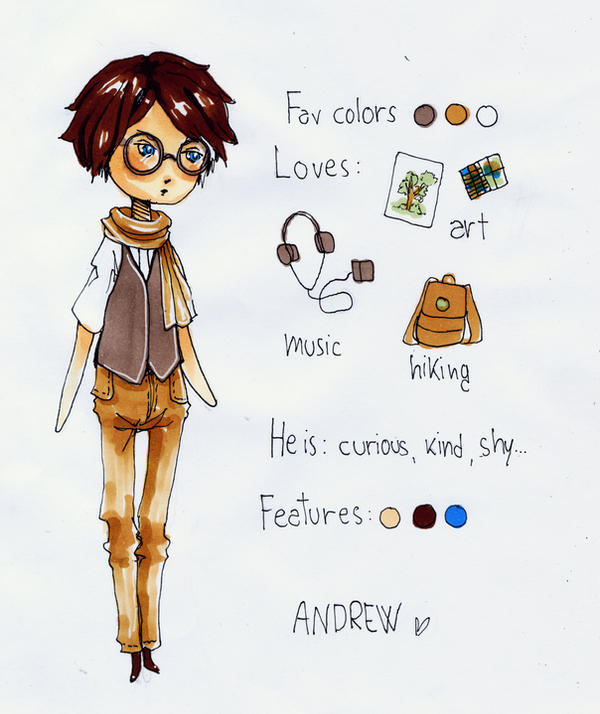 OC - Andrew by Ninelyn
