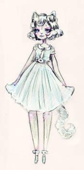 [personal] cat girl sketch