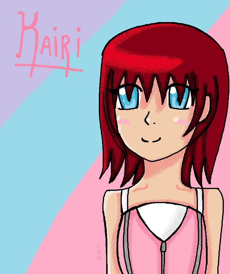:Kairi: by CutieBlackMage