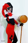 Harley Quinn Cosplay : Adam Hughes
