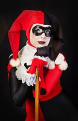 Harley Quinn Cosplay : Yummy yum yum !