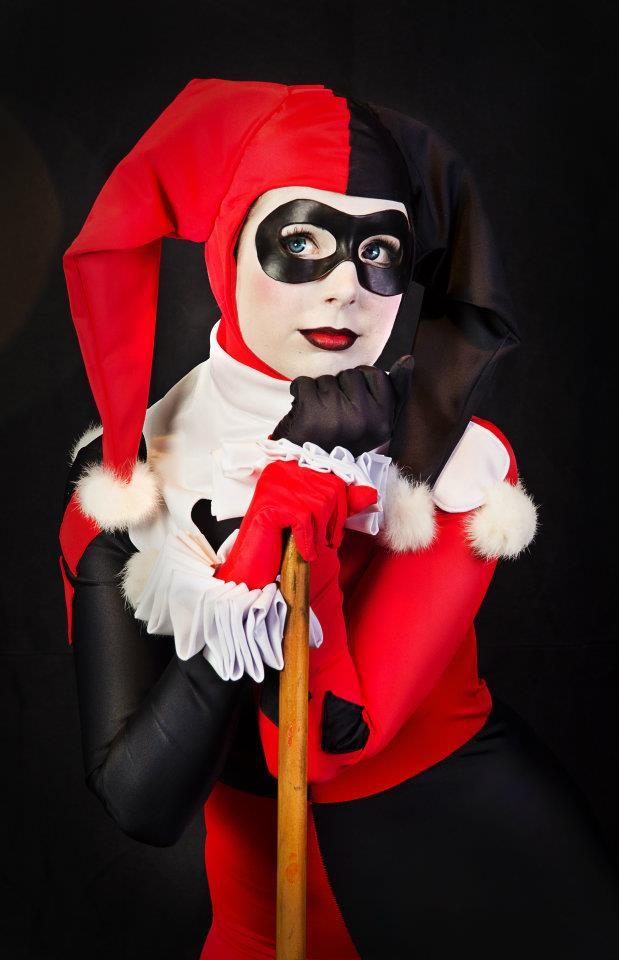 Harley Quinn Cosplay : Yummy yum yum ! by Thecrystalshoe