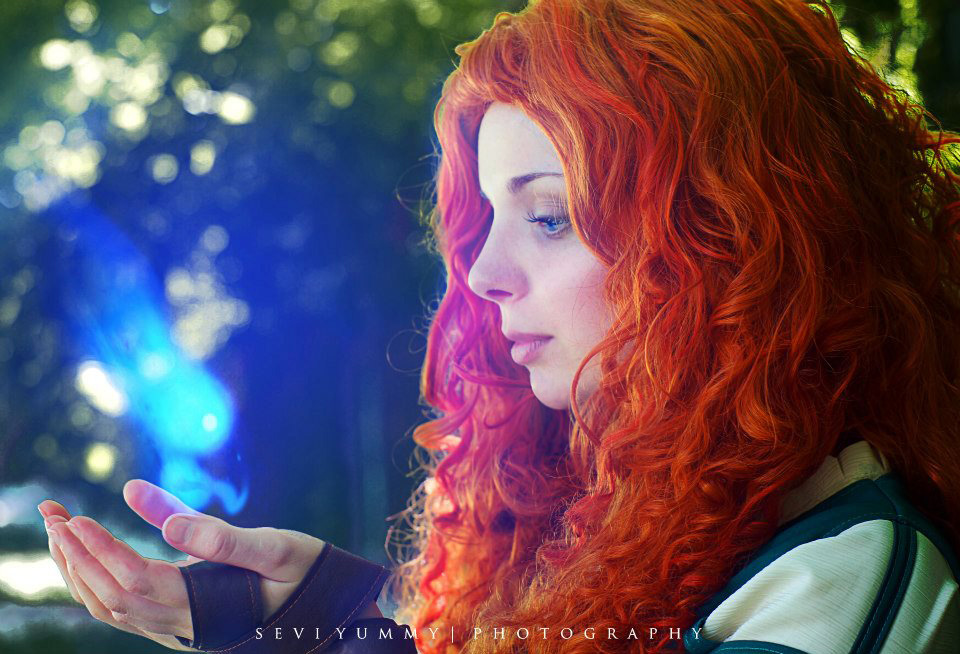 Merida Cosplay: Change my fate by Thecrystalshoe