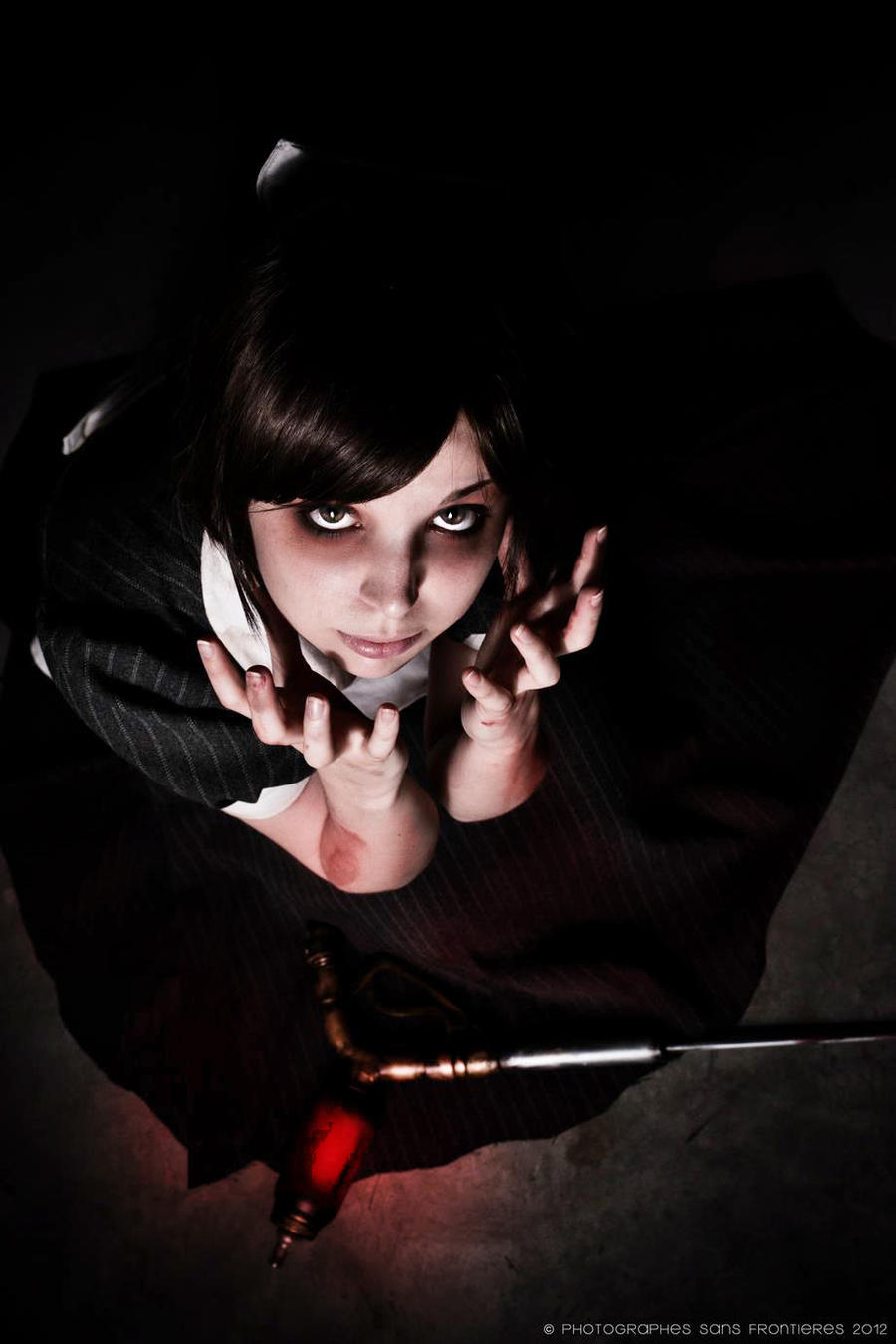 Help me! - Little Sister: Bishock Cosplay by Thecrystalshoe