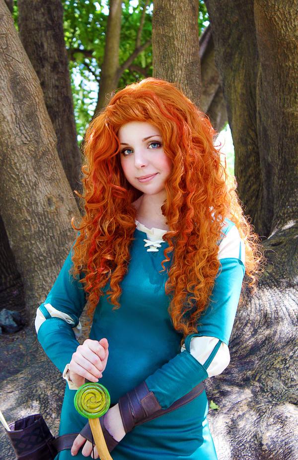Brave cosplay: Princess Merida by Thecrystalshoe on DeviantArt