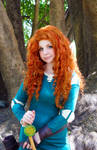Brave cosplay: Princess Merida